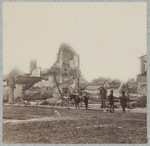 Urban Destruction during the Civil War
