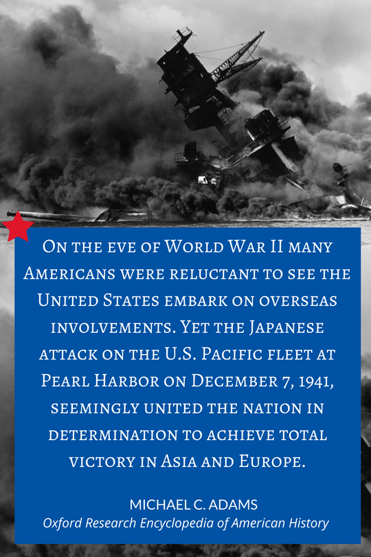 Pearl Harbor quote