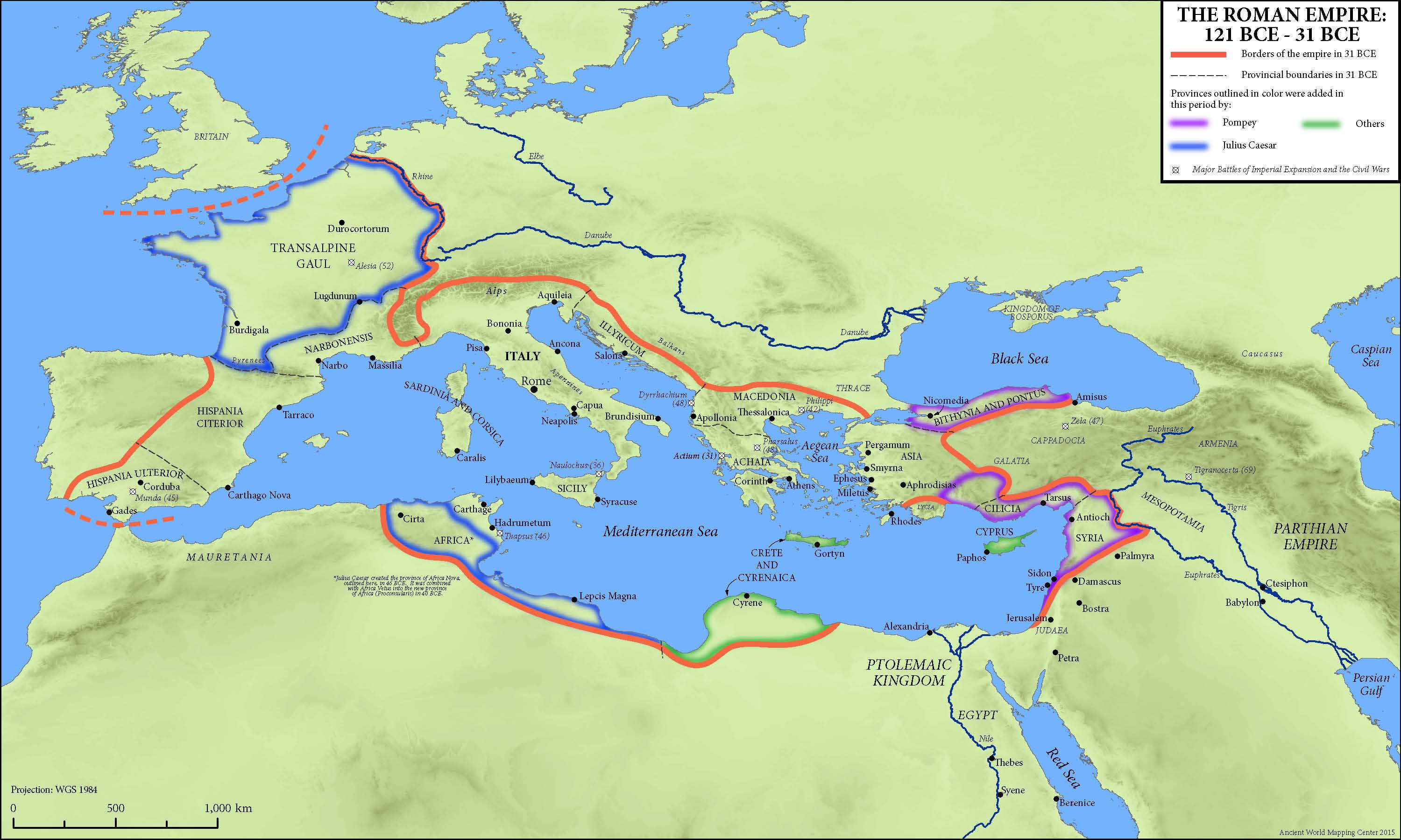 The Roman Empire Map Map: The Roman Empire, 121–31 BCE   Oxford Classical Dictionary