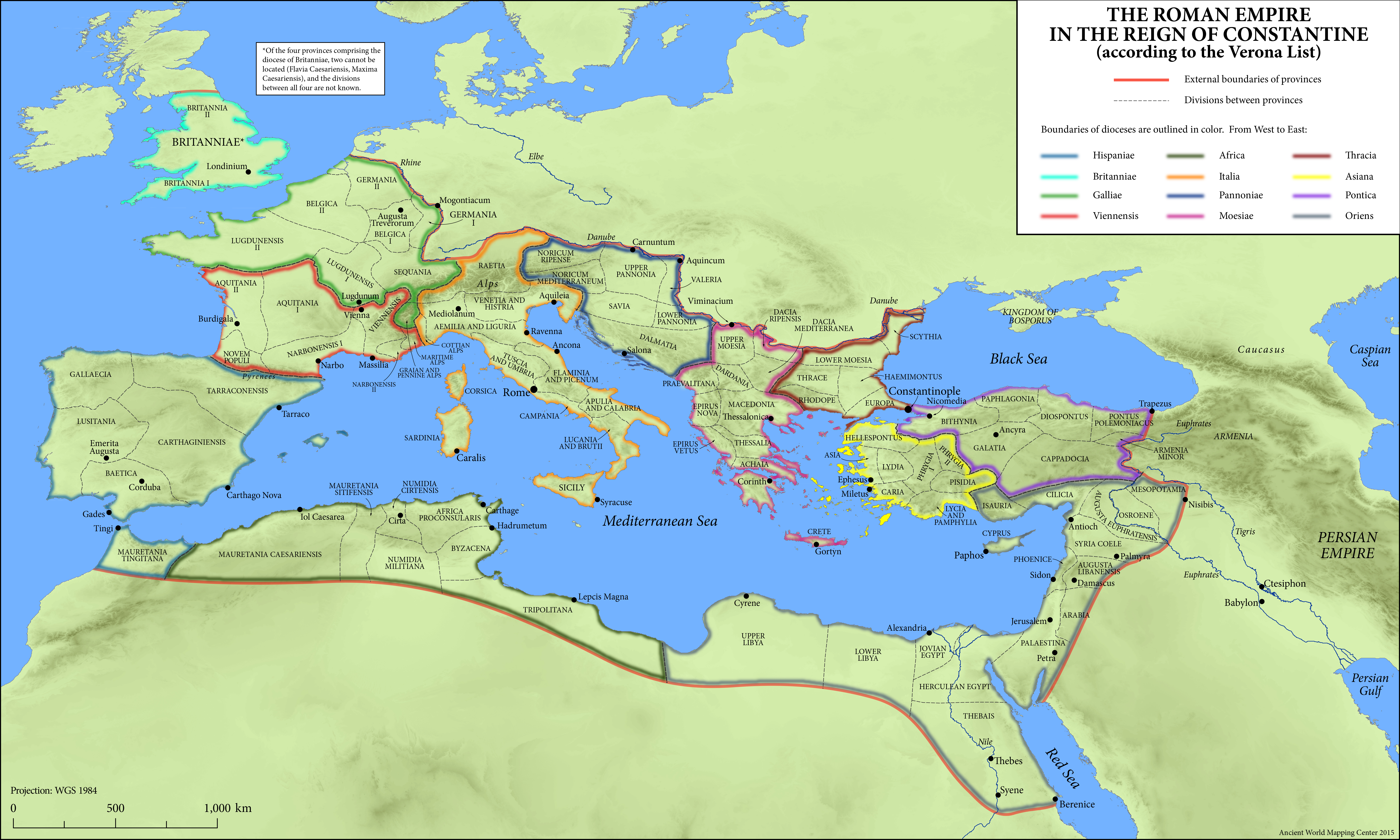 Maps of the Ancient World - Oxford Classical Dictionary