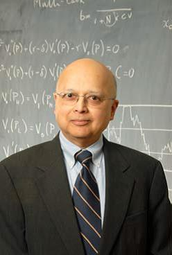 portrait of Avinash Dixit