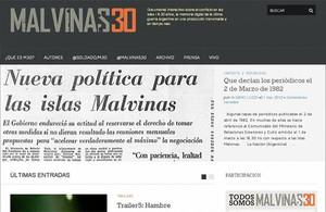 Digital Resources: Malvinas/30, an Interactive Documentary on the South Atlantic Conflict