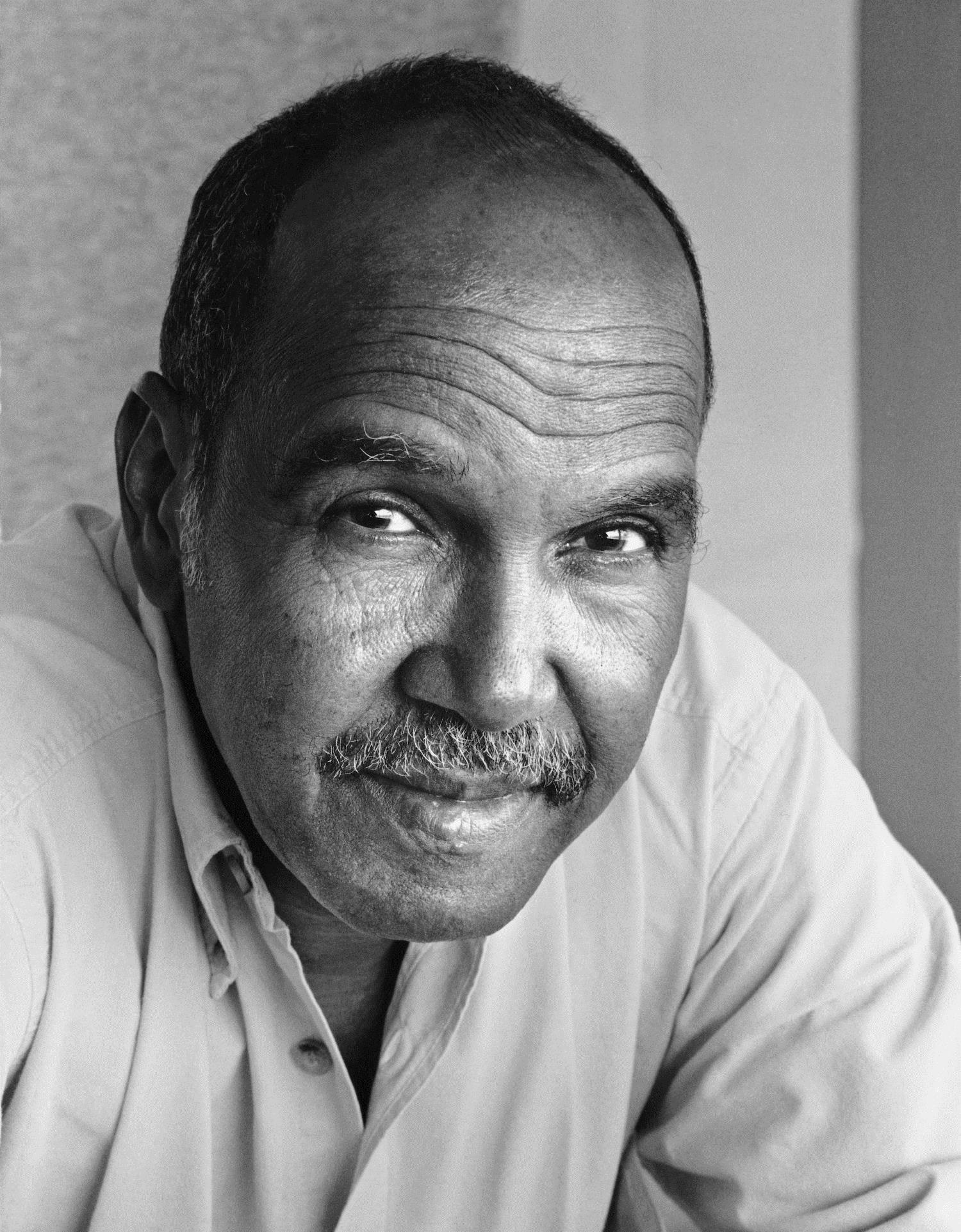portrait of Nuruddin Farah
