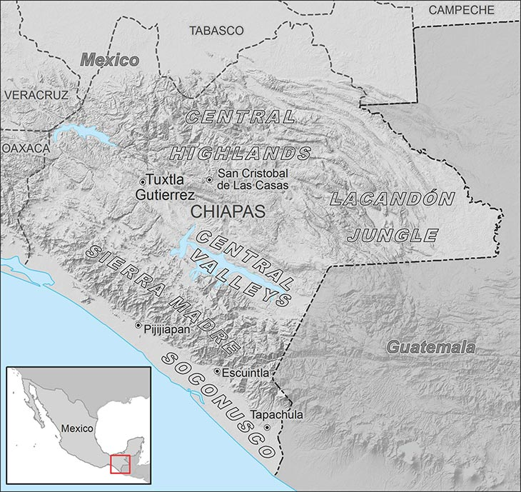 State-Building and Roads in Postrevolutionary Chiapas and at